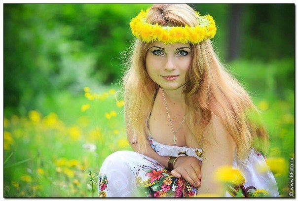 Русские женщины фотосессия