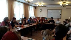 2016 03 22 Встреча клуба с семейным психологом Центр моя семья Киров 6