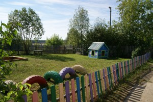 Суворовское детская площадка садика 3