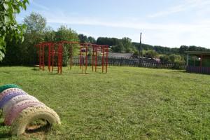 Суворовское детская площадка садика
