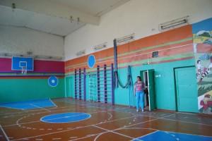 Сырьяны школа спортзал 2